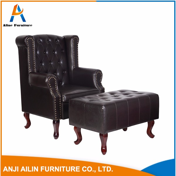 classical style antique sofa chair for living room