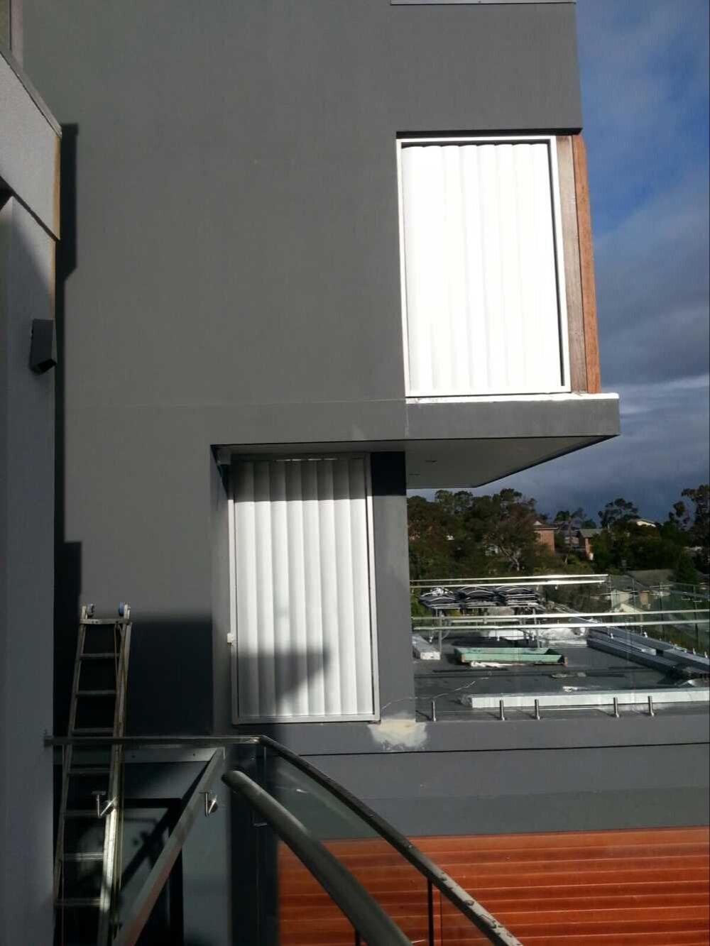 Glass Louver Facade : Facade glass wall aluminium sun louvre shutter buy