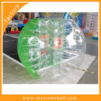 2016 cheap TPU Bubble ball/Colorful High Quality Bumper For Sale(Half-Color)