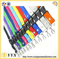 Promotional custom lanyard china wholesale silk screen printing lanyard