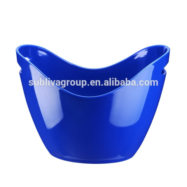 8.0L plastic ice bucket/ice cooler/party ice bucket, beer boat ice bucket