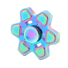 2017 NEW Fashion Kids Toy Metal Alloy EDC Hand Spinner Fidget Funny Anti Stress Toys With Aluminum alloy Gift Box