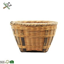 Bamboo handmade wartificial bamboo vegetable plant storage basket