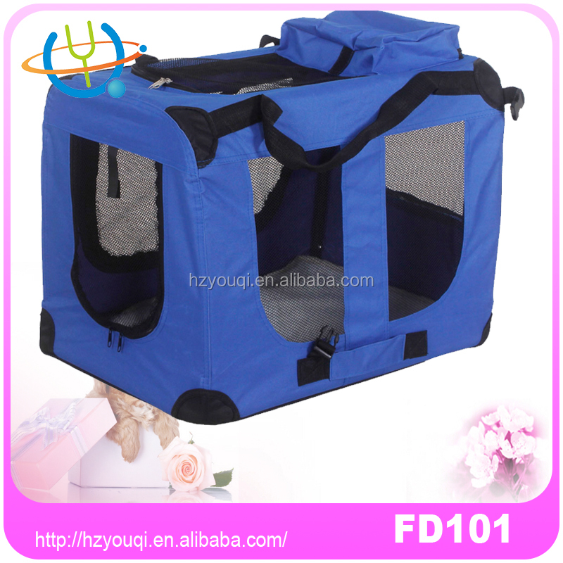 High quality Pet carrier/dog fabric cage for airline travel/dog soft crate