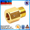 Gold Plating Steel CNC Lathe Parts