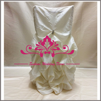 SC039 Wholesale Ivory Banquet Chair Cover