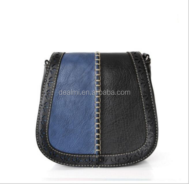 DEMIZXX651 Wholesale Custom Two Colors Women Vintage Design Pu Material Crossboay Bag In Stock New Ladies Leather Handbags