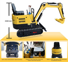 0.8 tons Chinese Garden Mini Farm Excavator For Sale