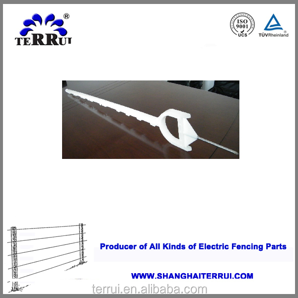 Most selling products electric fence plastic plant stakes for fence tape