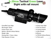 tactical red beam laser sight for rifle