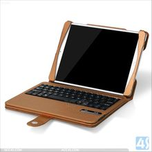 leather tablet sleeve, computer silicone bluetooth keyboard leather case for ipad air for ipad 5