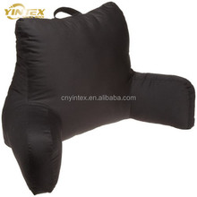Back Head Support Armrest Polyester Reading Pillow for Bed