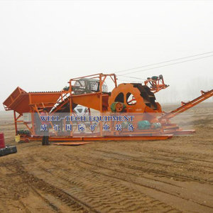 sand washing and dewatering machine export to India