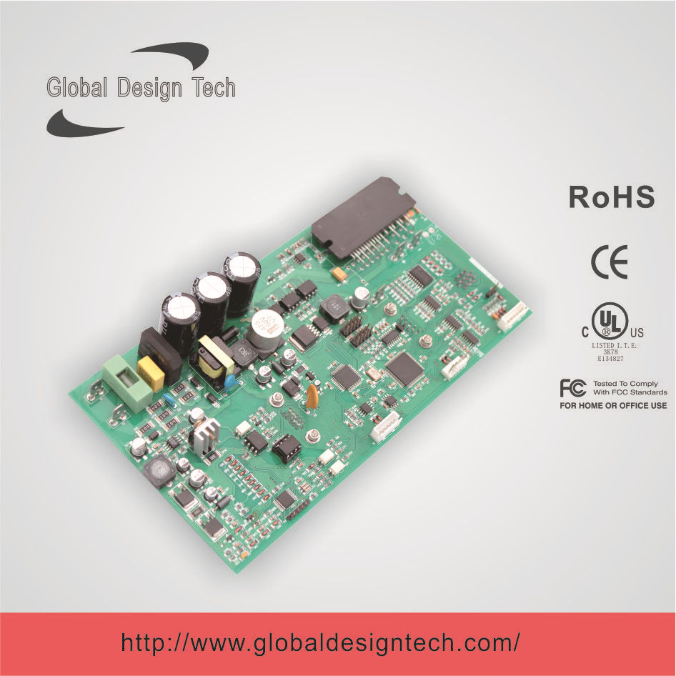 bldc motor controller control board for 1800w lawn