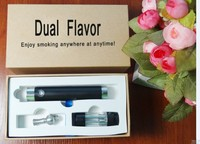 wholesales 2014 innovation Lover Vape dual flavor e cig with 1300mah , unique e cig , weed smoking wax vaporizer hookah pen