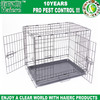 "Haierc Black 42"" Pet Folding Dog Cat House Crate Cage Kennel with ABS Tray"