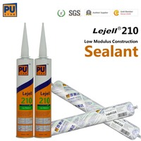 high performance polyurethane sealant low modulus PU sealant for construction PU paintable sealant Lejell 210