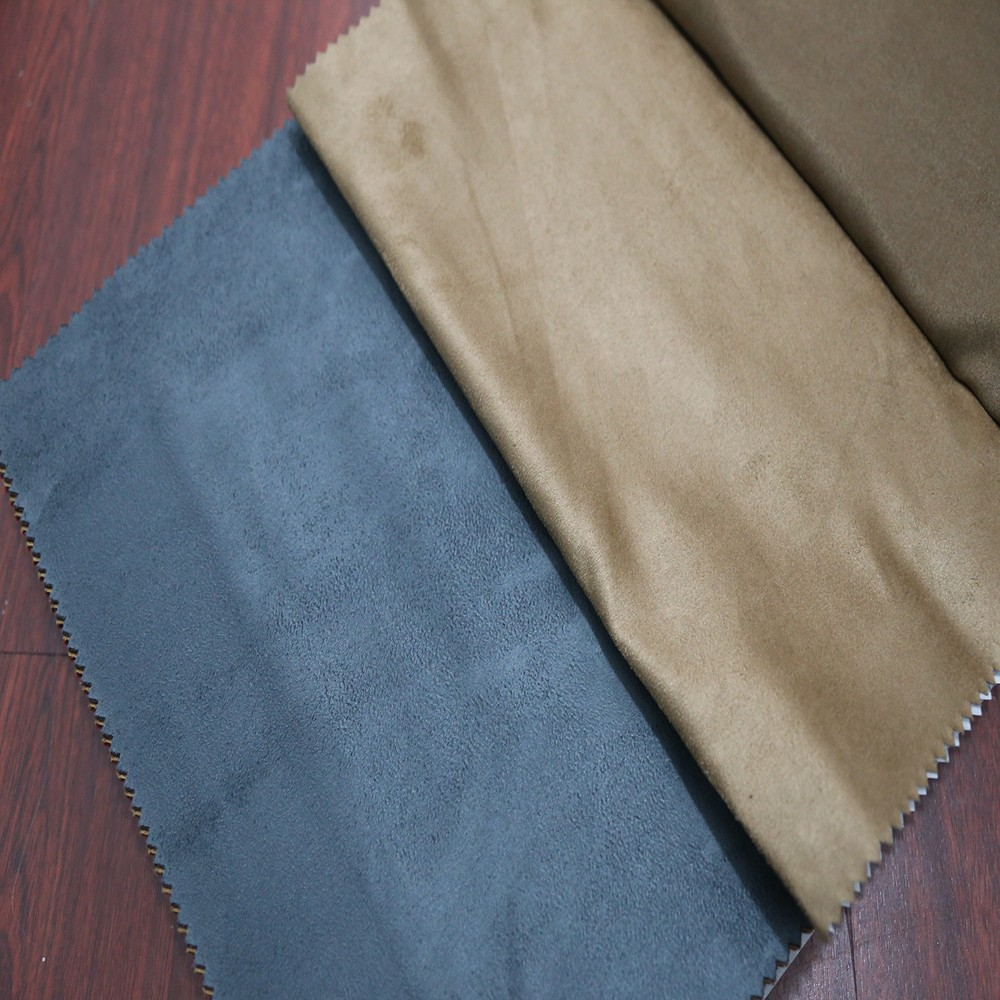 Modern super soft polyester suede fabric curtains for manufactured home