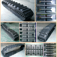 Agriculture Rubber Track Combine Harvester Rubber