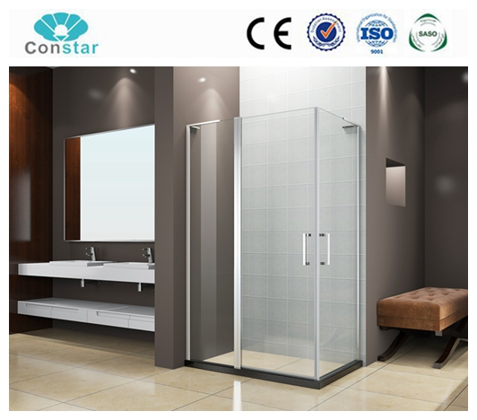 Latest Design Promotional Aluminium Alloy Touch Screen Glass steam bathroom warm Shower Enclosure