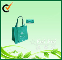 2014 new design convenient foldable shopping tote bag