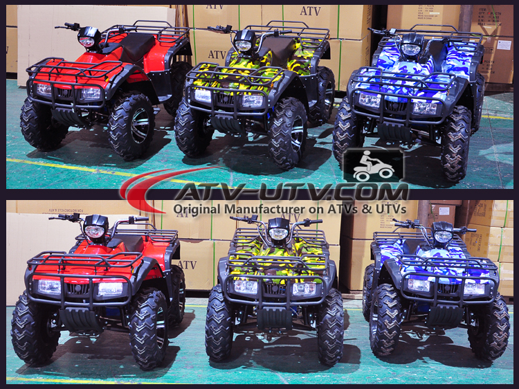 Cheap atv quad bike 2200w AC motor electric atv made in china