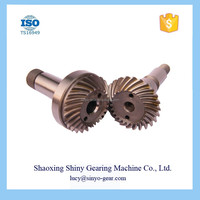 Forging Differential Spiral Bevel Gear Automatic Transmission Motorcycle