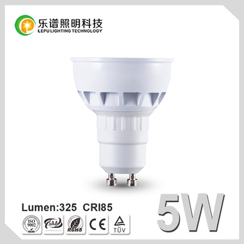 Lamp Socket GU10 Dimmable LED Spotlight COB 5W MR16
