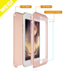 Full Body Protector Tempered Glass Screen Cell Phone Case Cover For iPhone 6