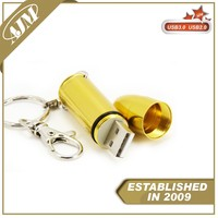 secure usb storage shark flash drive Printed Metal 1gb usb stick
