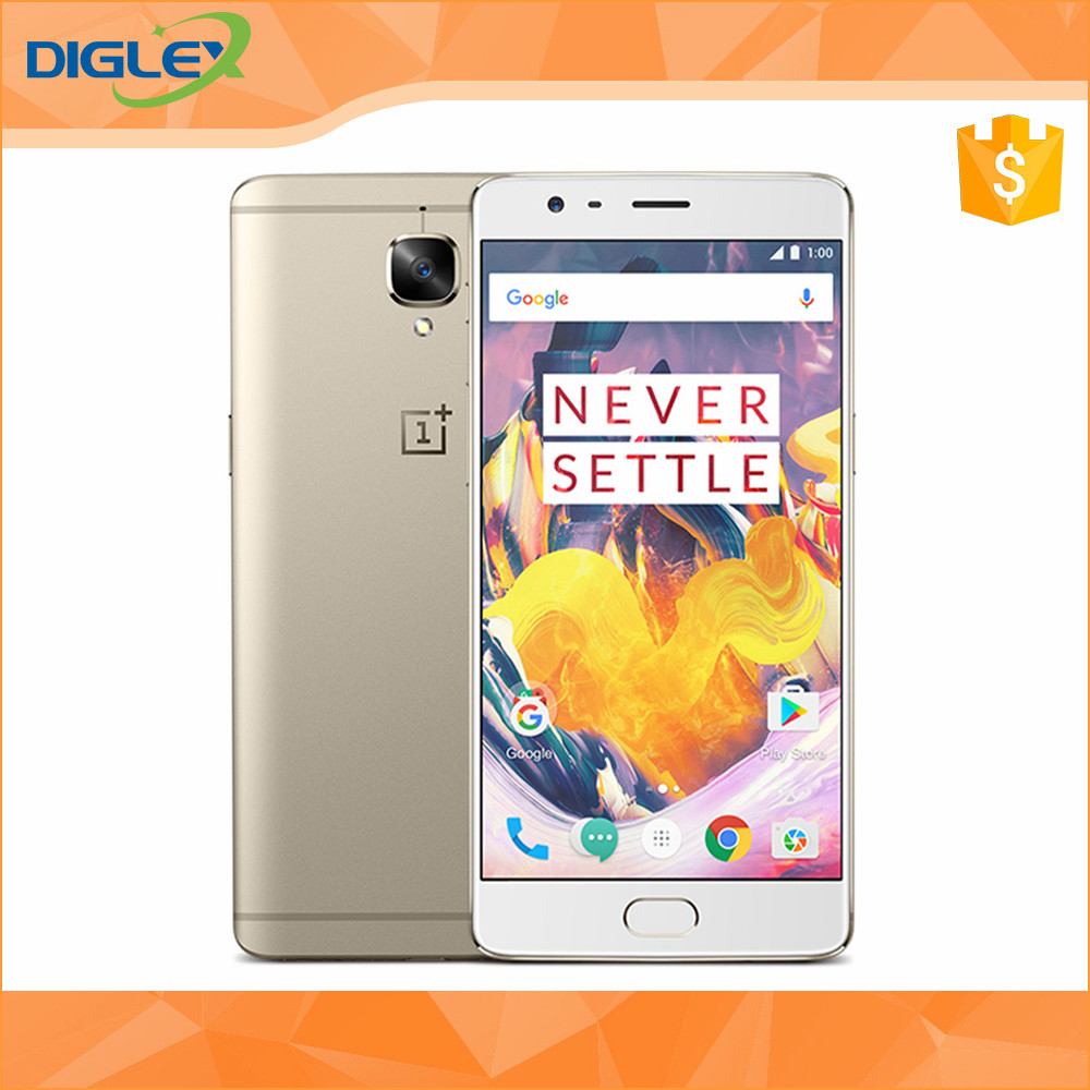 Original Oneplus 3T A3010 Mobile Phone Snapdragon 821 1080P 16MP Camera 6GB RAM 128GB ROM 4G LTE Fingerprint ID NFC