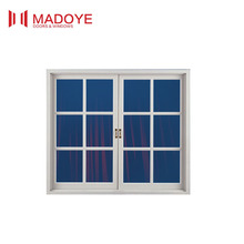 China factory wholesale Australian standards Aluminum French Windows / double glazing casement window