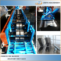 automatic high speed light steel keel frame cold forming machine /C U channel making machine drywall forming machine