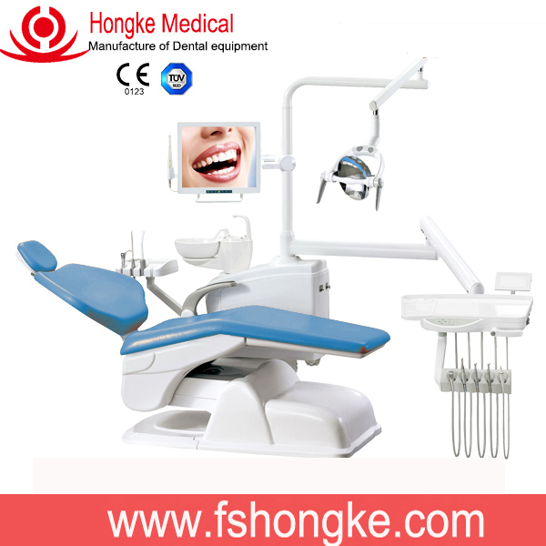 China Foshan Dental Equipment Economical CE Dental Chair Unit And Air Compressor Products China