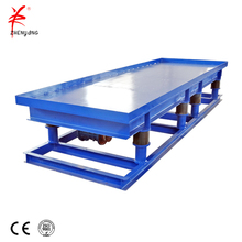 construction industry vibrator table for concrete tile