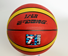 Promotion High quality cheap rubber material soft standard basketball factory