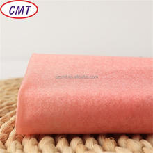Changzhou Cement soft and eco-friendly 75D 100% polyester taffeta fabric for interlining