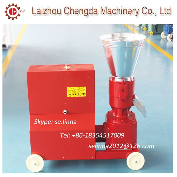 Hot sell KL200C 7.5KW mobile pellet machine for sale