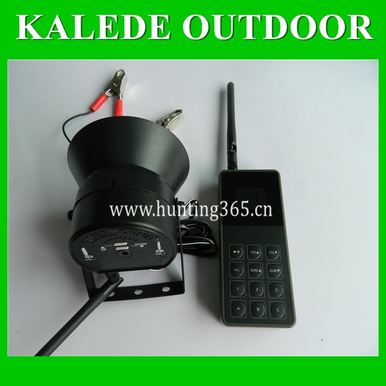Factory direct sale bird caller one remote control three device cp-830 electronic bird sound mp3 desert hunting tool duck decoy