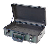 Aluminum Tool Briefcase Work Utility Hobby Case