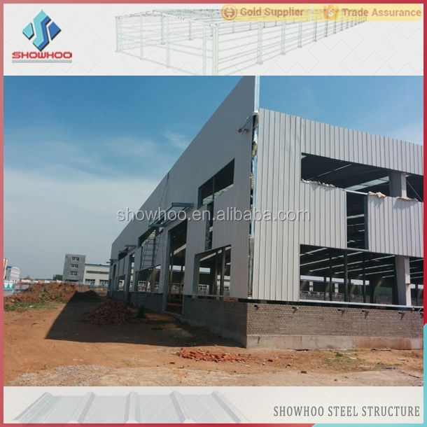 china fast lightweight steel framed refabricated insulated warehouse shed steel building systems