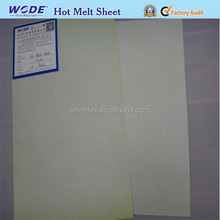 Shoe stiffener materials Hot melt adheisve sheet for toe box back counter