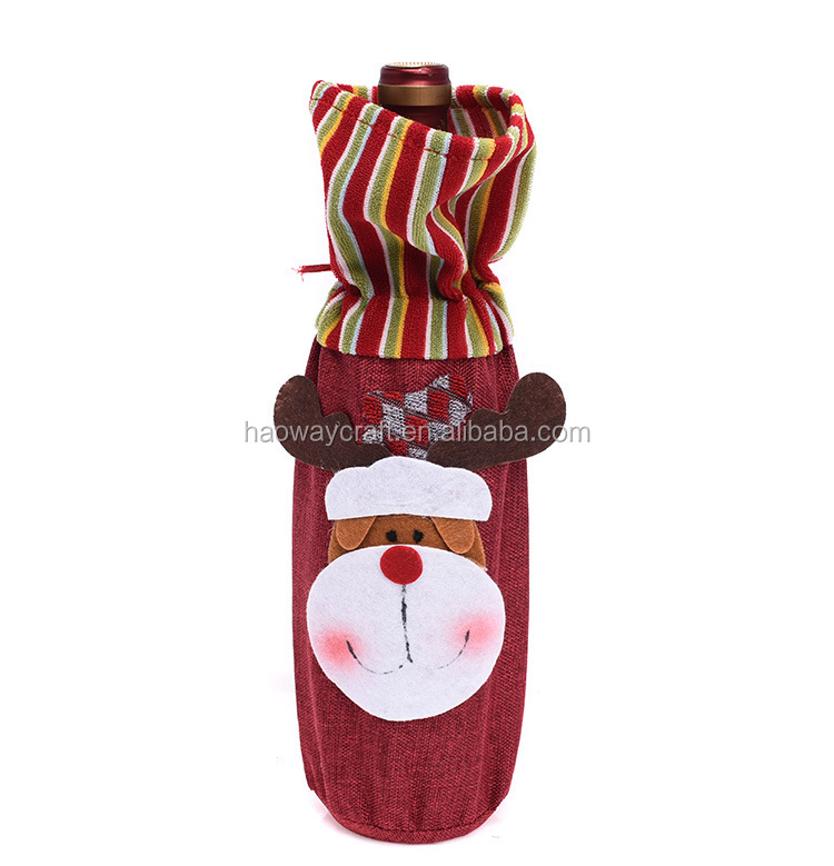Christmas Day New Decorative Wine Bottle Cover