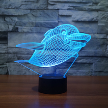 3D effect kids night light lamp FS-3326
