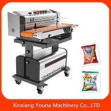 high efficient manual air inflating bag sealer for plastic/aluminum foil bag
