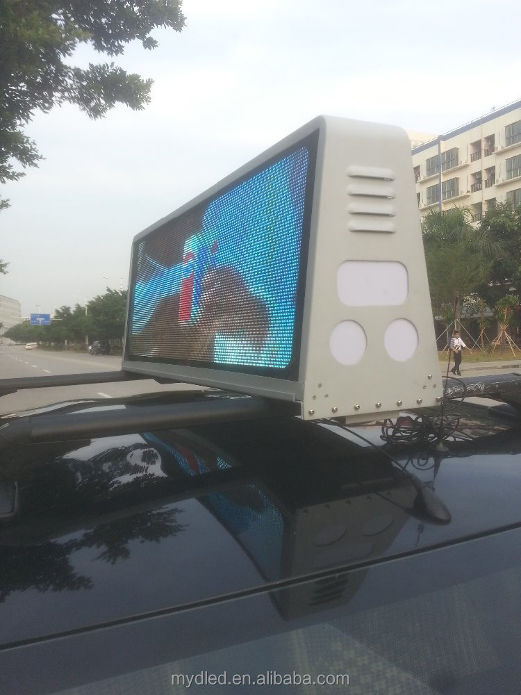 P5 outdoor taxi led display / led taxi display/ taxi top led signs
