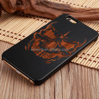Real wood stylish laser engraving custom design plastic wood mobile phone case for iPhone 5, for iPhone 6, for iPhone 6plus