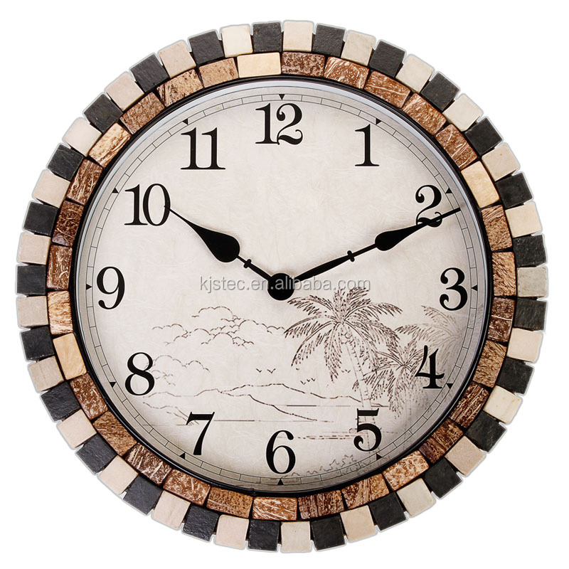 Watch Shape Wall Clock with luxury Classic design home decoration wall clock