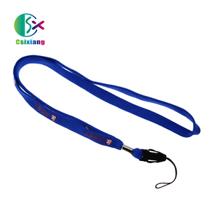 Fast Delivery Charming And Stylish Polyester Tubular PK Lanyards Strap For Cell Phone