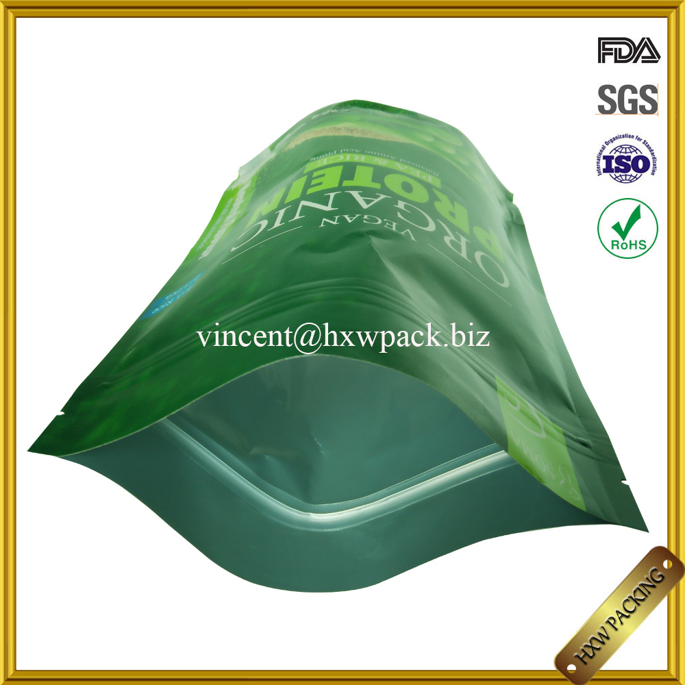 food packaging three-layer laminated aluminium foil plastic bag for food